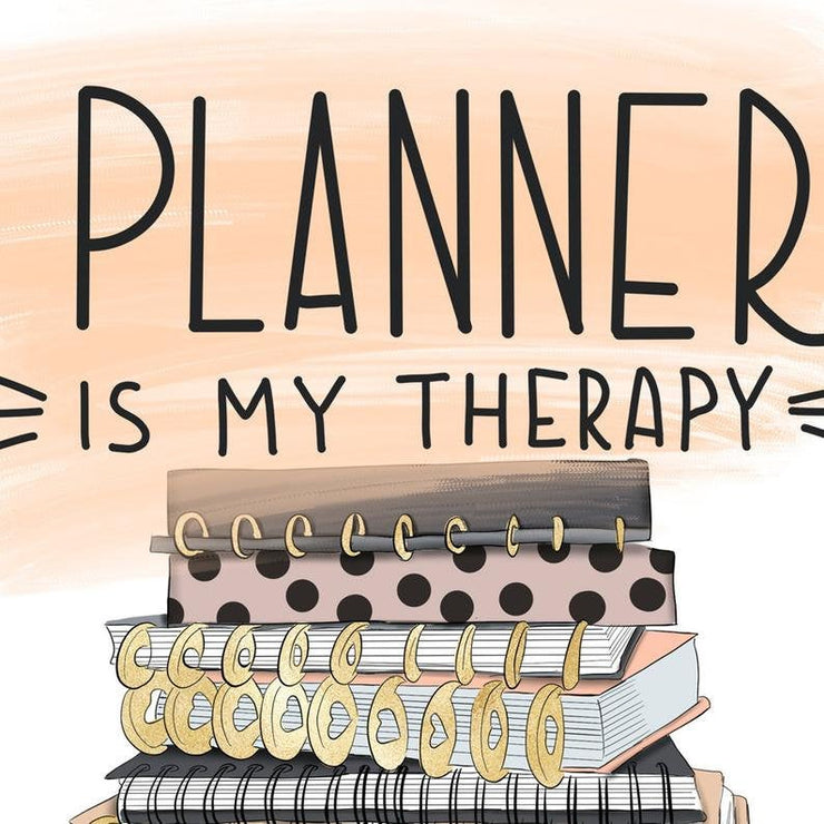 Planner Is My Therapy Png