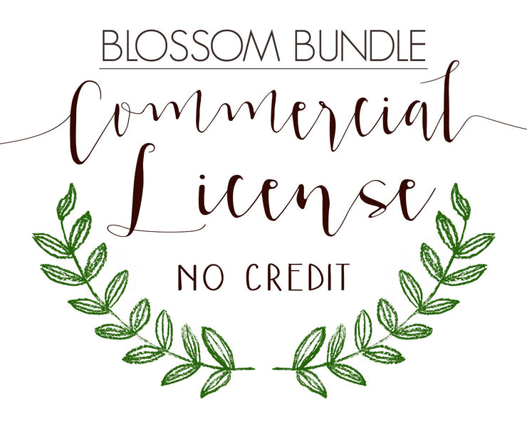 Commercial License for the Blossom Bundle