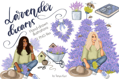 Lavender Dreams Clipart