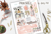 Do what you love Happy Planner Weekly Kit