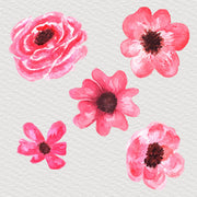 Pink Flowers Clipart