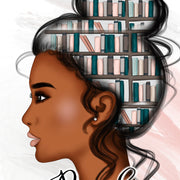 Book Lover Sublimation Designs African American