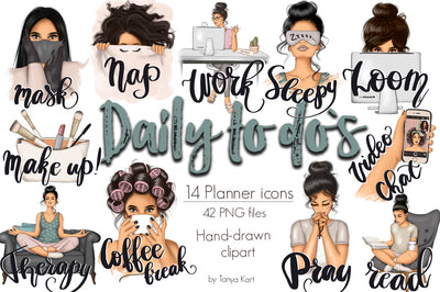 Daily To Do's Planner Icons