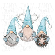Nordic Gnomes Sublimation Design