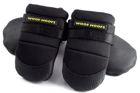 Woof Hoofs Winter Boots Black - XXS