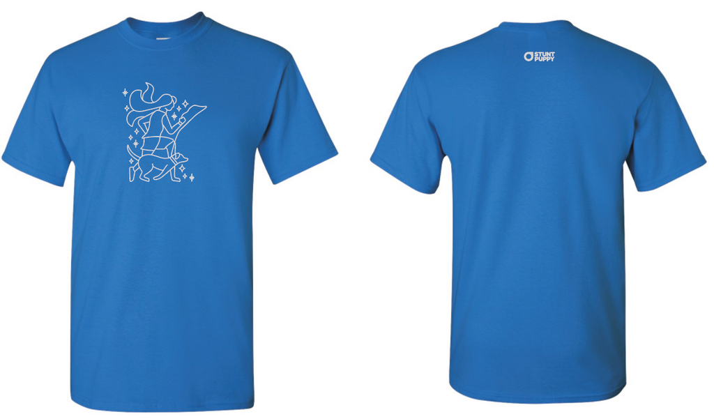 Minnesota Runner Limited Edition Tee Blue