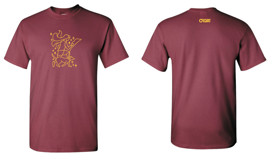 Minnesota Runner Limited Edition Tee Maroon