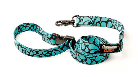 Croakies® Everyday Leash™ - Psychedelic Mint Black