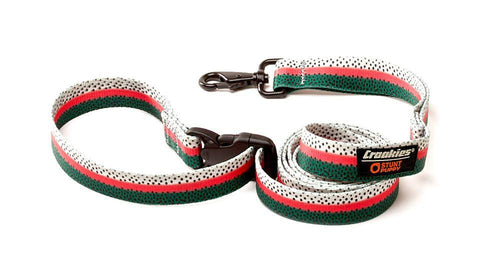 Croakies® Everyday Leash™ - Rainbow Fish Skin
