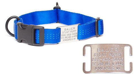 Adjustable Collar Tag - Stainless Steel