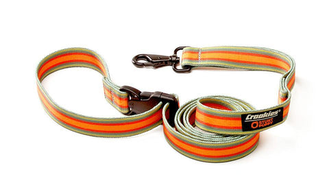 Croakies® Everyday Leash™ - Groove Orange