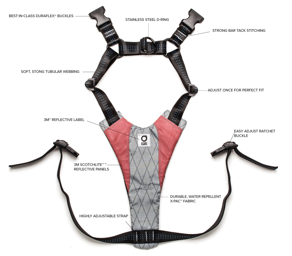 Go Dog Glo™ Harness