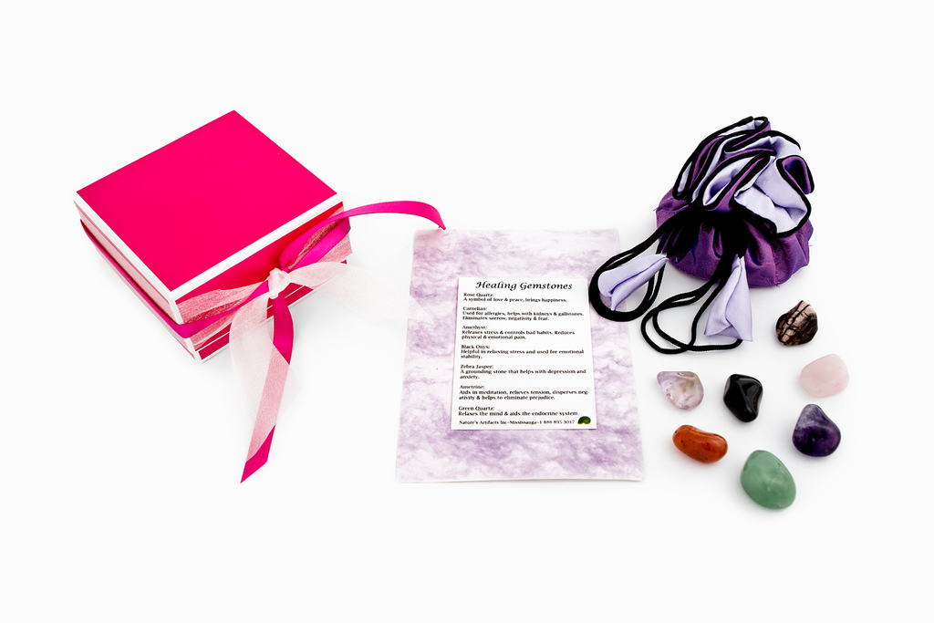"""Crystal Healing: Gemstone Kit"""