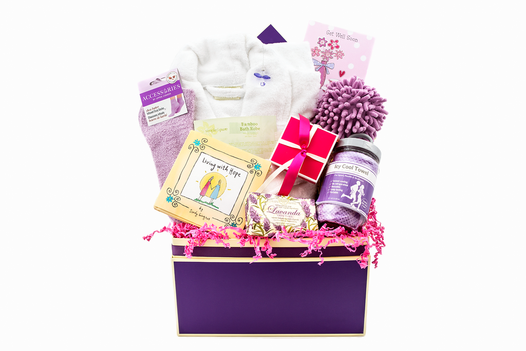 """Living with Hope"": LUXE Spa Gift Box"