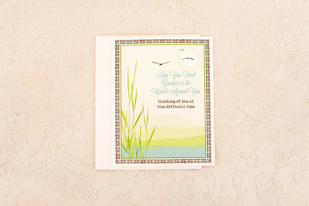 Comfort in the World Around You ... Greeting Card