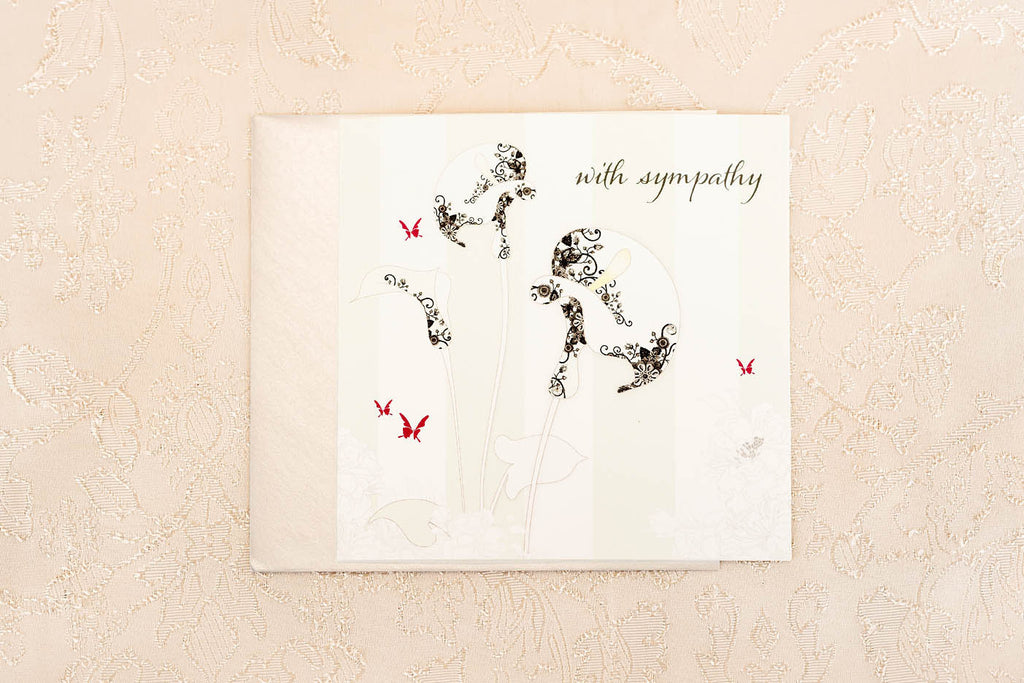 With Sympathy ... Greeting Card