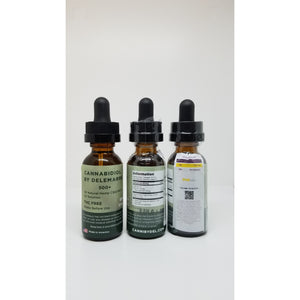THC FREE CBD Oil Solutions