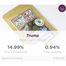 Load image into Gallery viewer, All Natural Hemp Flower - Trump