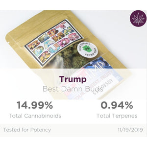 All Natural Hemp Flower - Trump