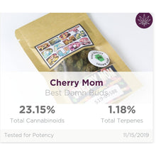 Load image into Gallery viewer, All Natural Hemp Flower - Cherry Mom