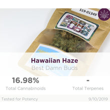 Load image into Gallery viewer, All Natural Hemp Flower - Hawaiian Haze
