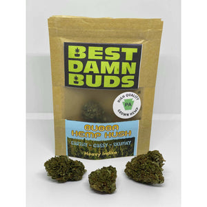 All Natural Hemp Flower - Bubba Hemp Kush