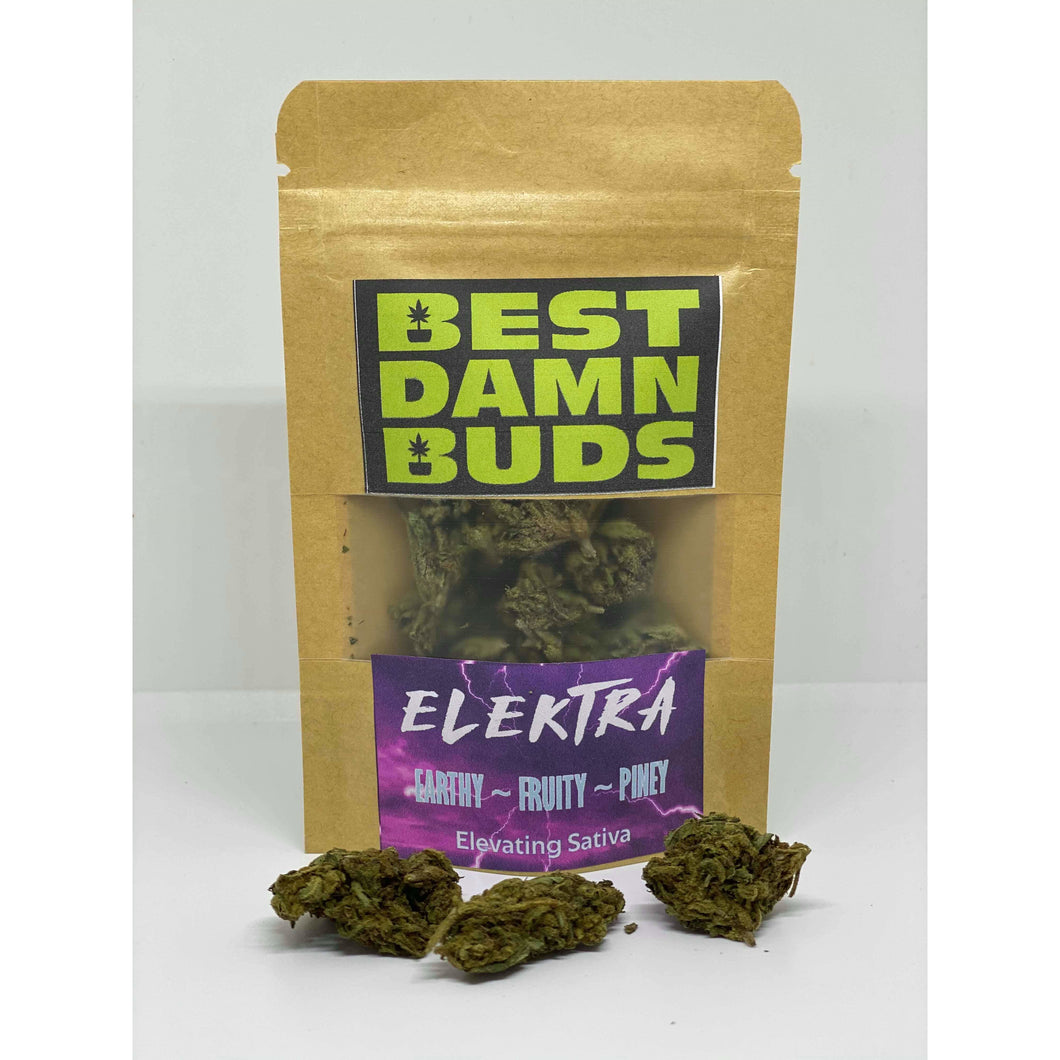 All Natural Hemp Flower - Elektra