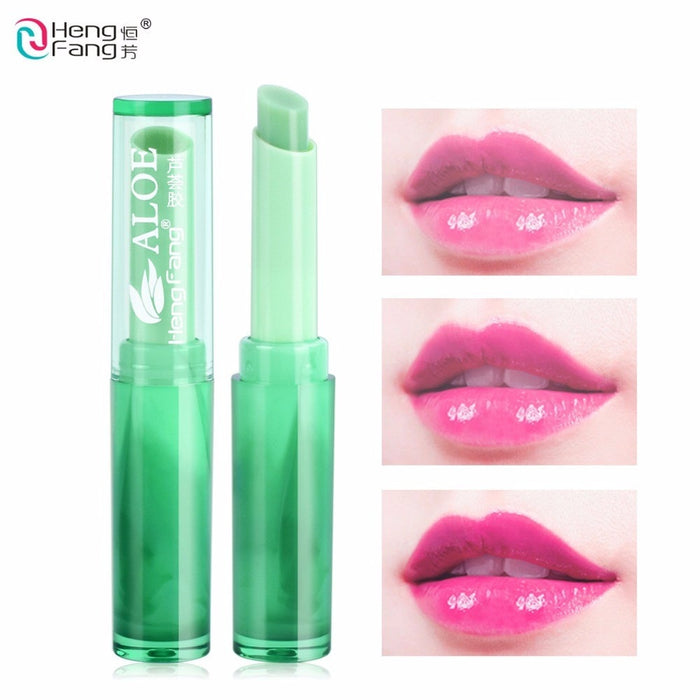 Aloe Vera Lip Balm Green Color