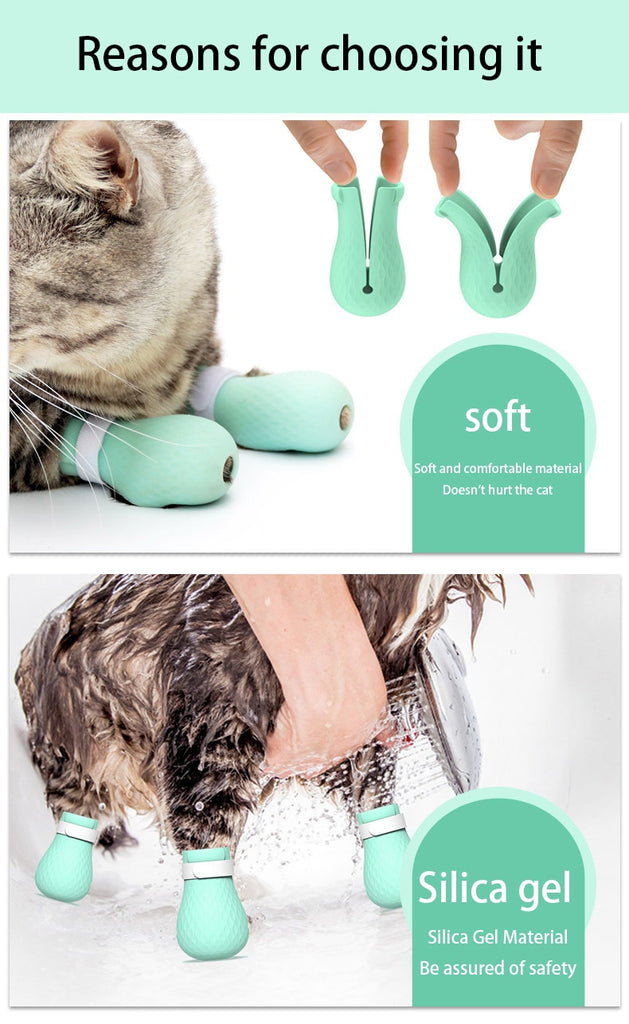 Adjustable Pet Cat Paw Protector