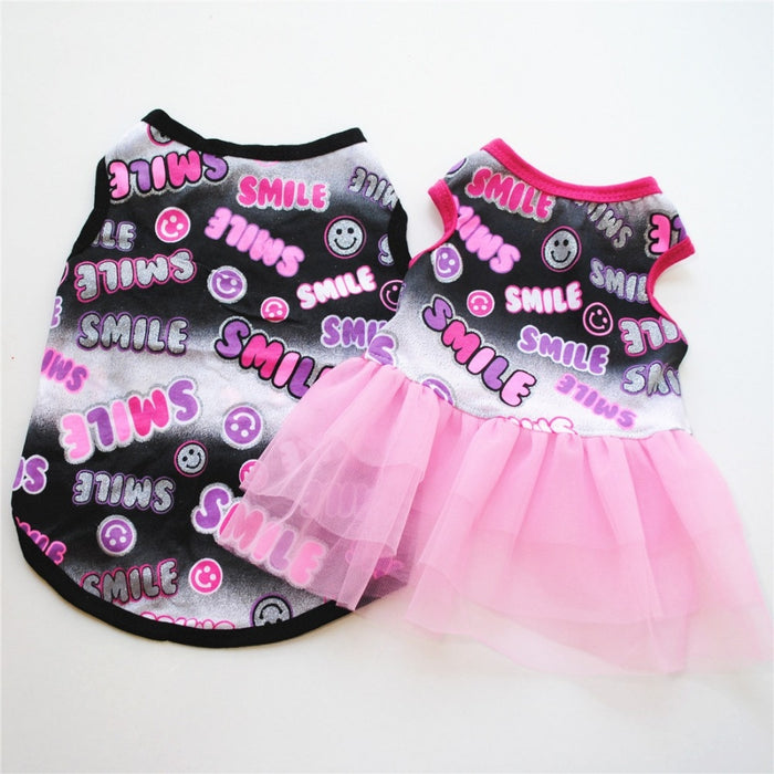 Wedding Dress Skirt Puppy Clothing
