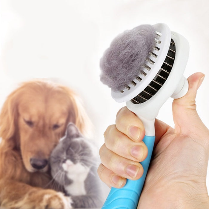 Pet Dog Hair Remover Cat Brush