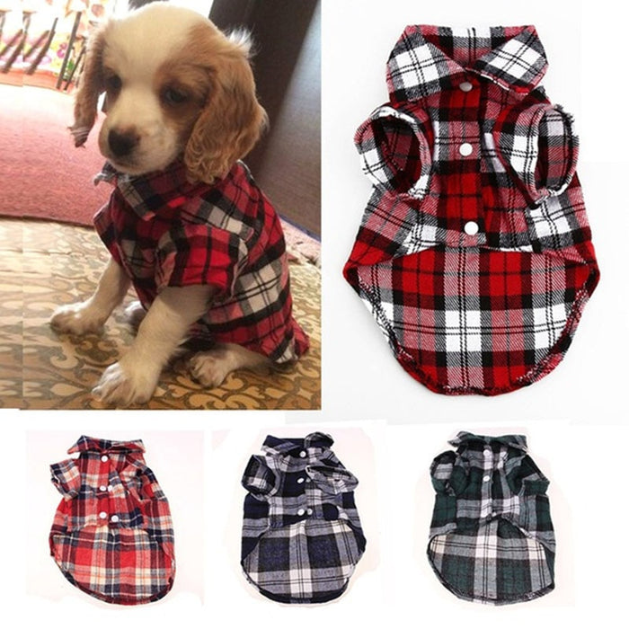Cotton Cat Dog Tshirt Vest Puppy Clothing