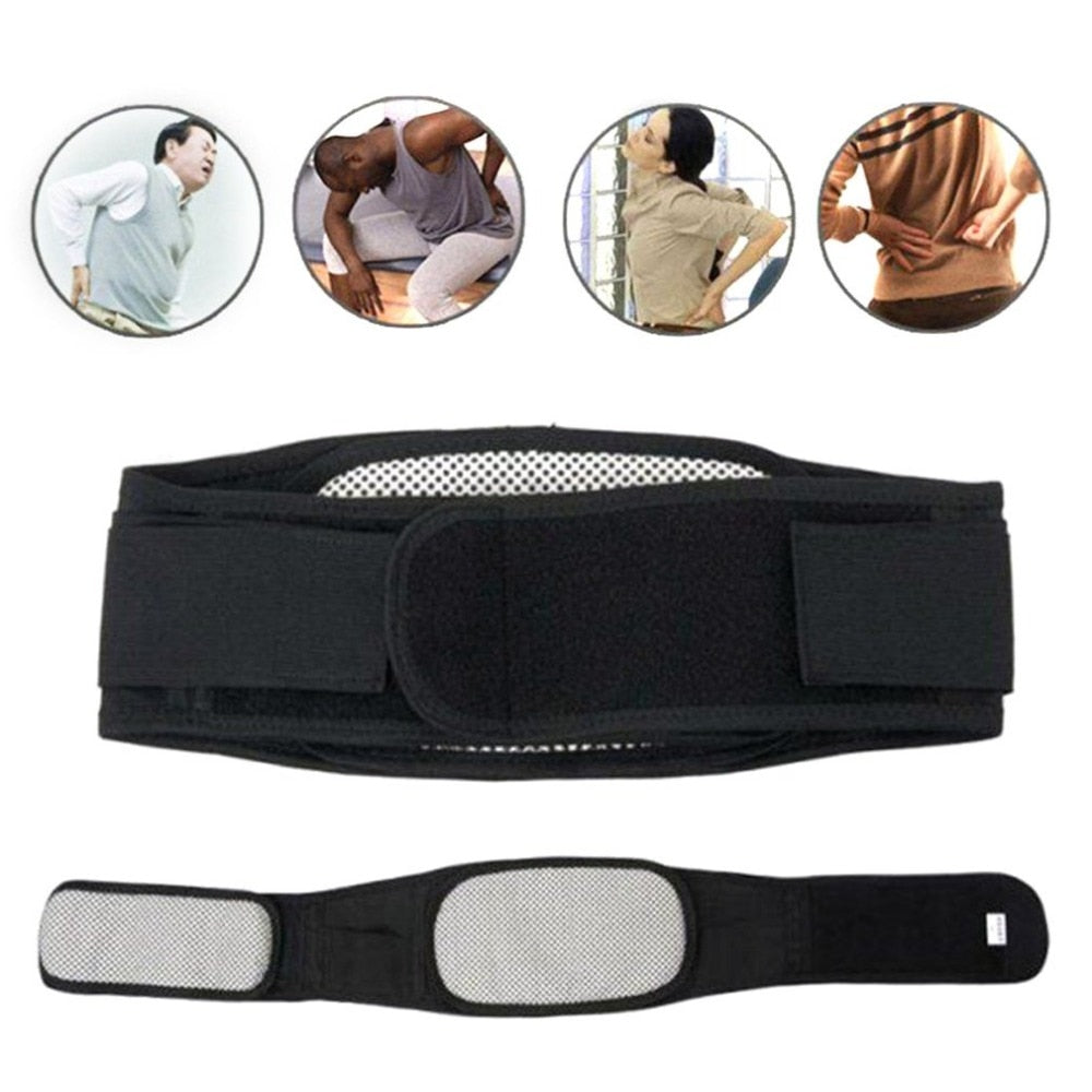 Self-heating Magnetic Therapy Waist Belt