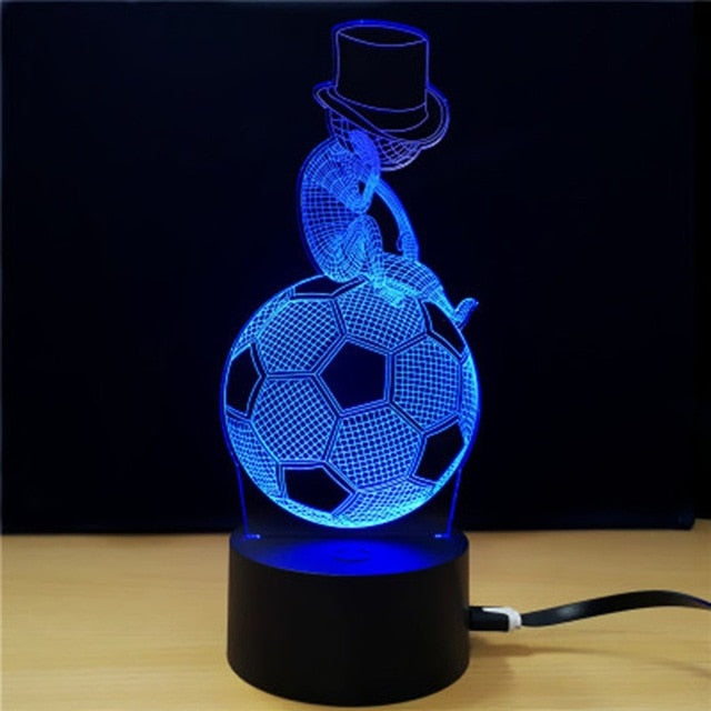 Colorful Touch Switch Table Desk Light