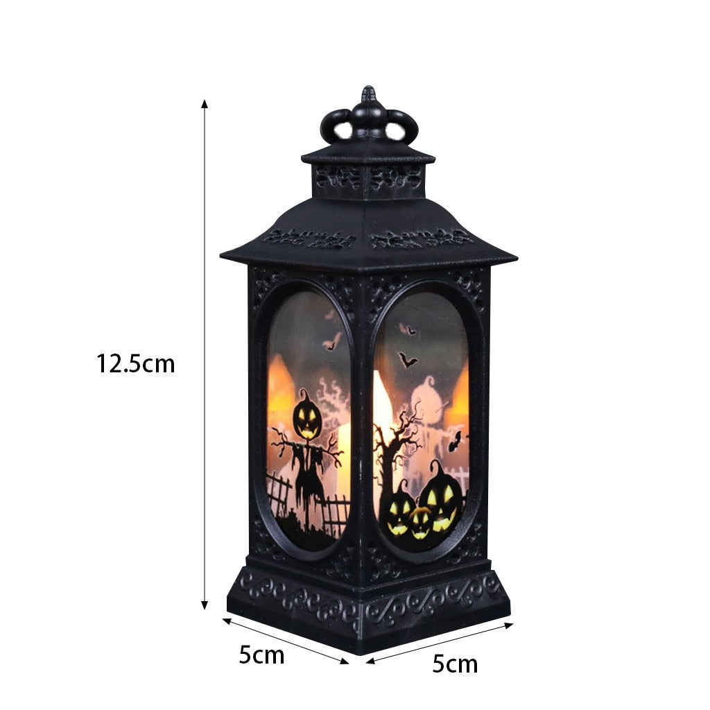 Night Light Pumpkin Lantern Retro Exquisite Shape Safe LED