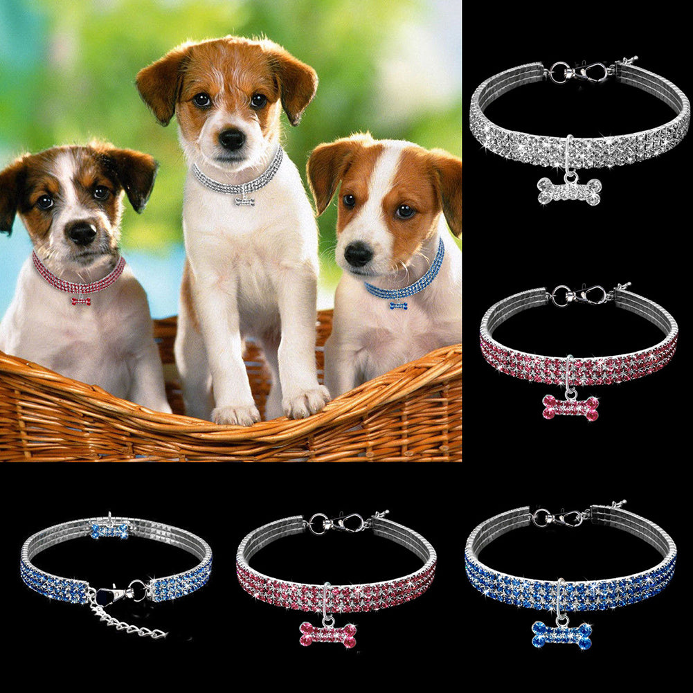 Dog Baby Puppies Cat Collar Safety Elastic