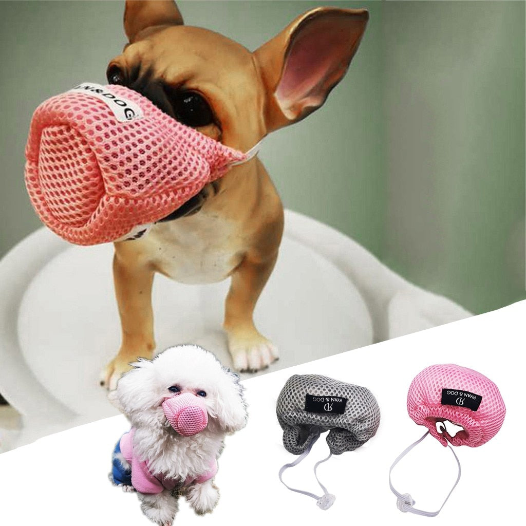 Respirator Muzzle Protective Adjustable Pet