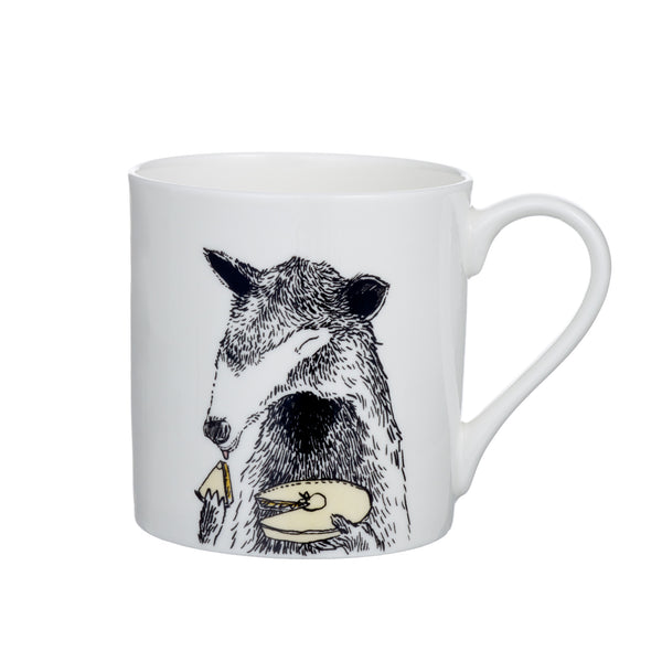 A - Alphabet of Snacking Animals Mug