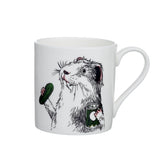 G - Alphabet of Snacking Animals Mug