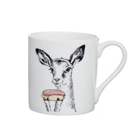 I - Alphabet of Snacking Animals Mug