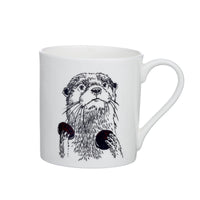 O - Alphabet of Snacking Animals Mug