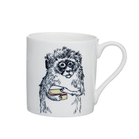 V - Alphabet of Snacking Animals Mug