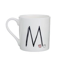 M - Alphabet of Snacking Animals Mug