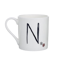 N - Alphabet of Snacking Animals Mug