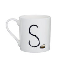 S - Alphabet of Snacking Animals Mug