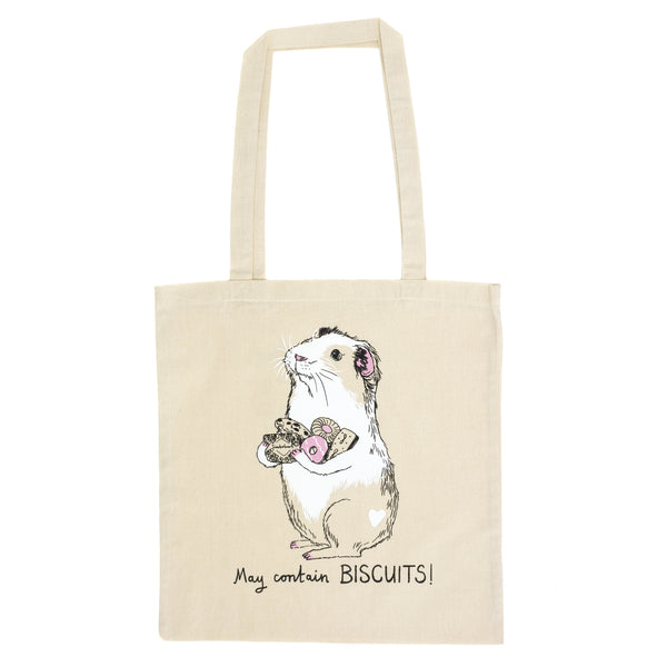 Biscuits Guinea Pig Tote Bag