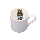 Mr Bear is inside your mug