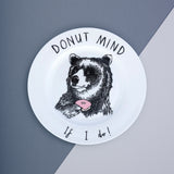 Donut Mind if I do Bear Side Plate