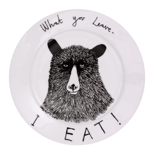'Hungry Bear' Side Plate