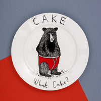 'Cake What Cake?' Side Plate